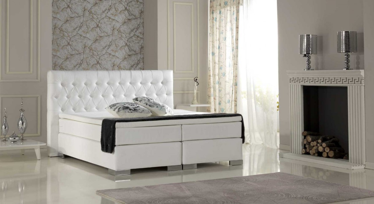 boxspringbett living plus. Black Bedroom Furniture Sets. Home Design Ideas