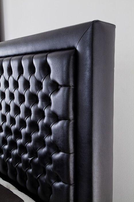 CROWN Boxspringbett MILLENIUM DELUXE, Taschenfederkern Matratze inkl. Topper, Chesterfield-Steppung, 160x200/180x200/200x200