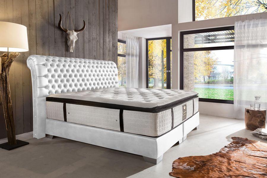 boxspringbett baron deluxe. Black Bedroom Furniture Sets. Home Design Ideas