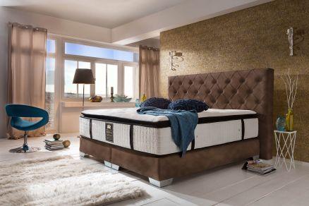 Boxspringbett holzoptik  Boxspringbetten ohne Bettkasten – Traditionelle Bauweise - Crown Betten