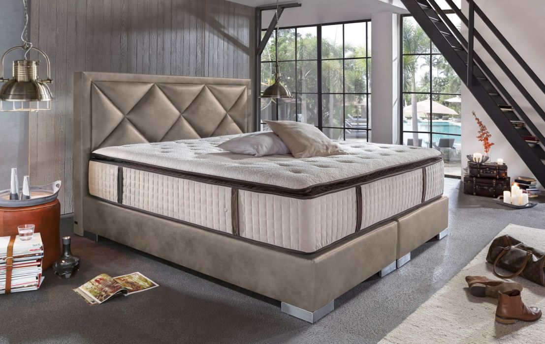 boxspringbett joker deluxe. Black Bedroom Furniture Sets. Home Design Ideas
