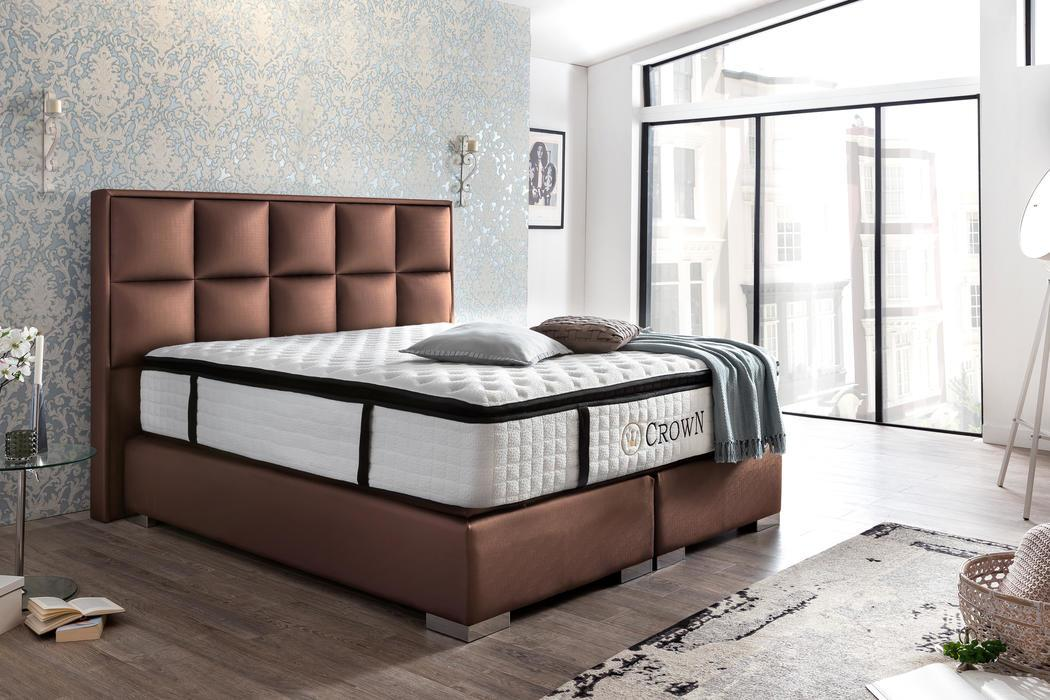 boxspringbett barcelona deluxe. Black Bedroom Furniture Sets. Home Design Ideas