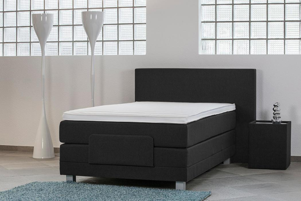 crown boxspringbett body flex taschenfederkern wende matratze inkl topper mit ohne motor. Black Bedroom Furniture Sets. Home Design Ideas