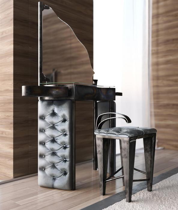 Boxspringbett Industrial Design Set II